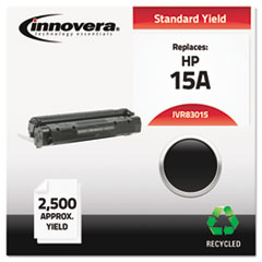 Remanufactured C7115A (15A) Laser Toner, 2500 Yield, Black