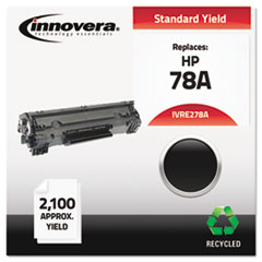 Remanufactured CE278A (78A) Laser Toner, 2100 Yield, Black