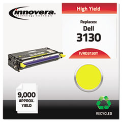 Remanufactured 330-1204 (3130) Toner, 9000 Yield, Yellow
