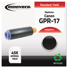 Remanufactured 0279B003AA (GPR-17) High-Yield Toner, Black