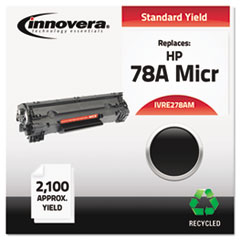 Remanufactured CE278A(M) (78AM) MICR Toner, Black