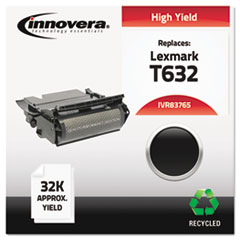 Remanufactured 12A7465 (T632) Toner, Black