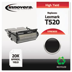 Remanufactured 12A6835 (T520) High-Yield Toner, Black