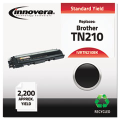Remanufactured TN210BK Toner, 2200 Page-Yield, Black