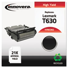 Remanufactured 12A7362 (T630) High-Yield Toner, Black