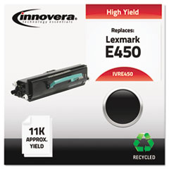 Remanufactured E450 Toner, Black