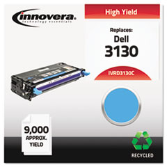 Remanufactured 330-1199 (3130) Toner, 9000 Yield, Cyan