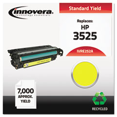Remanufactured CE252A (504A) Laser Toner, 7000 Yield, Yellow