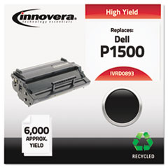 Remanufactured 310-3543 (P1500) Toner, 6000 Yield, Black