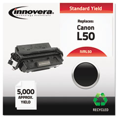 Remanufactured 6812A001AA (L50) Toner, 5000 Yield, Black