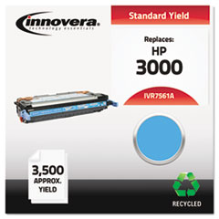 Remanufactured Q7561A (314A) Toner, 3500 Page-Yield, Cyan
