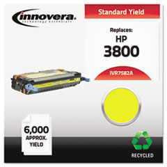 Remanufactured Q7582A (503A) Laser Toner, 6000 Yield, Yellow