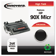 Remanufactured CE390X(M) (90XM) High-Yield MICR Toner, Black