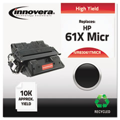 Remanufactured C8061A(61A) MICR Toner, 10000 Yield, Black