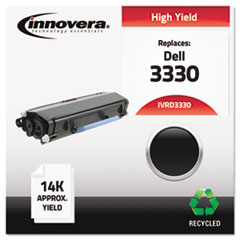 Remanufactured 330-5207 (3330) Toner, 14000 Page-Yield, Black