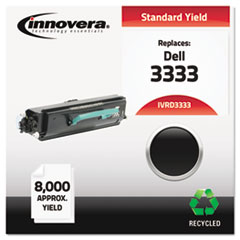 Remanufactured 330-8573 (3333) Toner, 8000 Yield, Black
