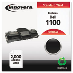 Remanufactured 310-6640 (1100) Toner, 2000 Yield, Black
