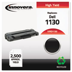 Remanufactured 330-9523 (1130) Toner, 2500 Page-Yield, Black