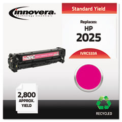 Remanufactured CC533A (304A) Toner, 2800 Yield, Magenta