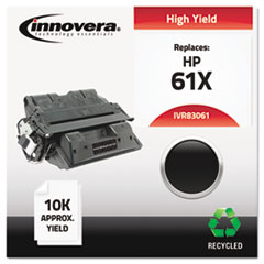 Remanufactured C8061X (61X) Laser Toner, 10000 Yield, Black