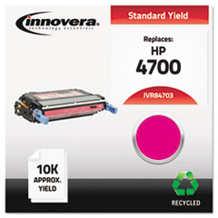 Remanufactured Q5953A (643A) Laser Toner, 10000 Yield, Magenta