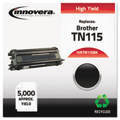 Remanufactured TN115BK High-Yield Toner, Black