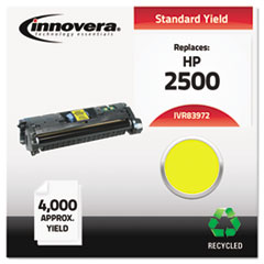 Remanufactured Q3972A (123A) Laser Toner, 4000 Yield, Yellow