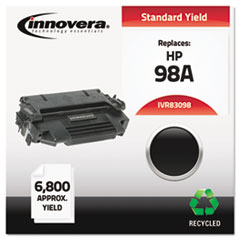 Remanufactured 92298A (98A) Laser Toner, 6800 Yield, Black