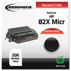 Remanufactured C4182X MICR Toner, 20000 Yield, Black