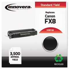 Remanufactured 8955A001AA (FX8) Toner, 3500 Yield, Black
