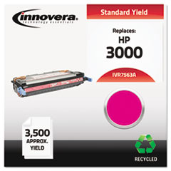 Remanufactured Q7563A (314A) Laser Toner, 3500 Yield, Magenta