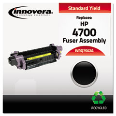 Compatible Remanufactured Q7502A (4700) Fuser, 100000 Page-Yield