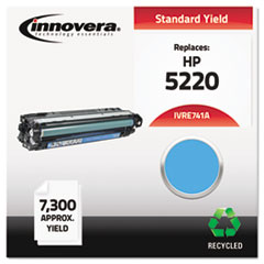 Remanufactured CE741A (CP5225) Toner, 7300 Page-Yield, Cyan