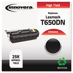 Remanufactured T650H21A (T650) Toner, Black
