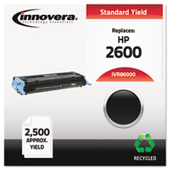 Remanufactured Q6000A (124A) Toner, Black