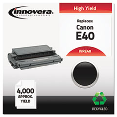 Remanufactured, 1491A002AA (E40) Toner, 4000 Yield, Black