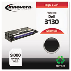 Remanufactured 330-1198 (3130) Toner, 9000 Yield, Black