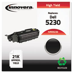 Remanufactured 330-6968 (5230) Toner, 21000 Yield, Black