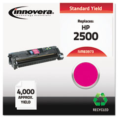 Remanufactured Q3973A (123A) Laser Toner, 4000 Yield, Magenta
