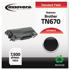 Remanufactured TN670 High-Yield Toner, Black