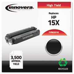 Remanufactured C7115X (15X) Laser Toner, 3500 Yield, Black