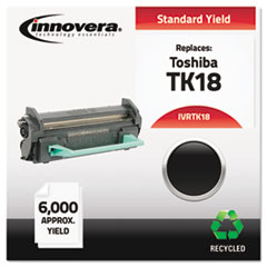 Remanufactured TK-18 Toner, Black