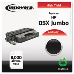 Remanufactured CE505X(J) (05XJ) Extra High-Yield Toner, Black