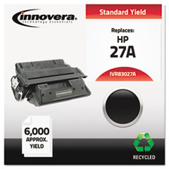 Remanufactured C4127A (27A) Toner, Black - Compatible
