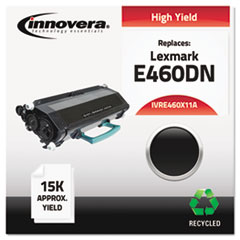 Remanufactured E460X11A (E460) Toner, Black
