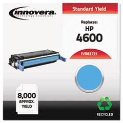 Remanufactured C9721A (641A) Toner, 8000 Yield, Cyan