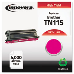 Remanufactured TN115M High-Yield Toner, Magenta