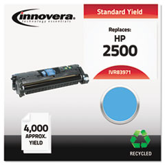 Remanufactured Q3971A (123A) Laser Toner, 4000 Yield, Cyan