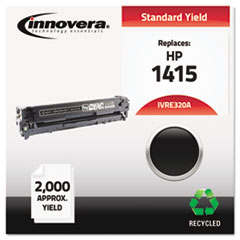 Remanufactured CE320A (128A) Laser Toner, 2000 Yield, Black