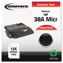 Remanufactured Q1338A(M) (38AM) MICR Toner, Black